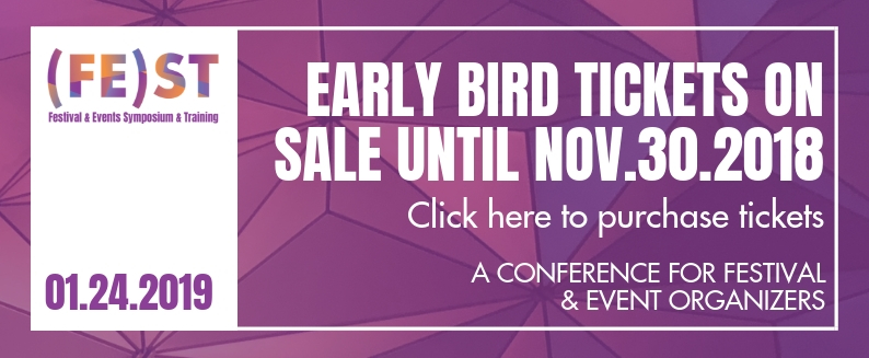 EARLY BIRD TICKETS ON SALE UNTIL NOV.30.2018
